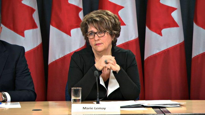 Marie Lemay. Photo from CBC