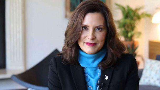 PHOTO: Michigan Gov. Gretchen Whitmer is joined by several governors in a new video on holiday safety during the coronavirus pandemic. (Gov. Gretchen Whitmer/YouTube)