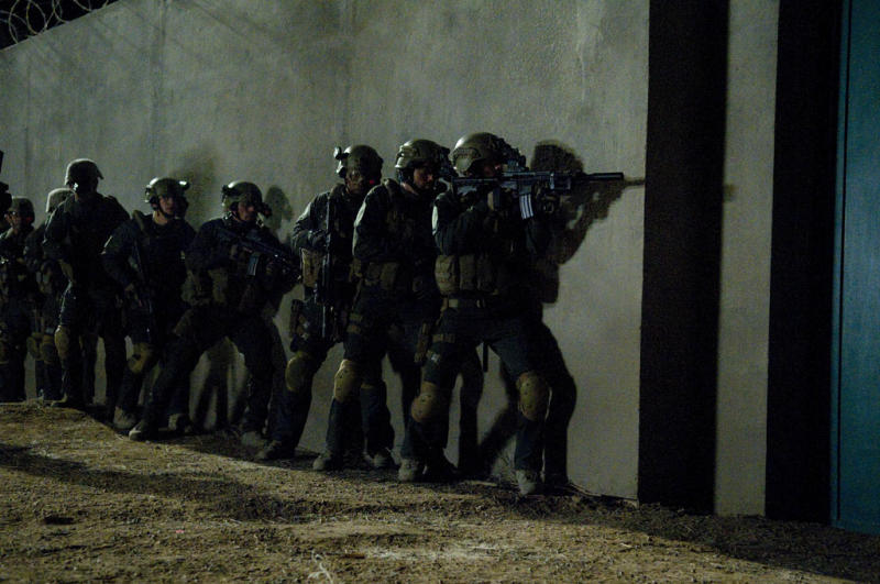 The night of the raid on Osama Bin Laden's heavily compound.