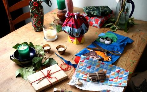 Choosing plastic-free wrapping is better for the environment - Credit: Clara Molden/Telegraph