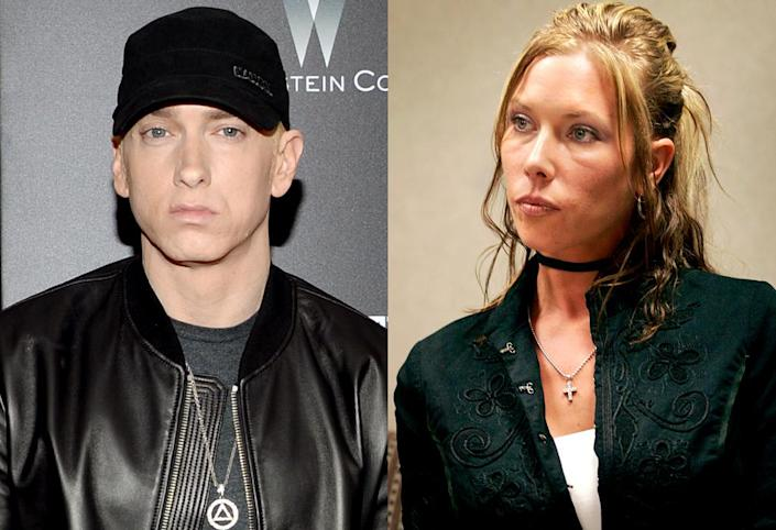 Eminem's ex-wife Kim Mathers was arrested in October 2015. (Photo: AP/Getty Images)
