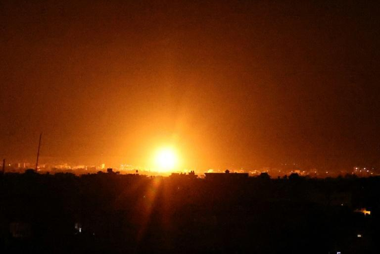 Israel hits Gaza with its first strikes ordered by Prime Minister Naftali Bennett, a former defence minister who ended Benjamin Netanyahu's 12 straight years in power