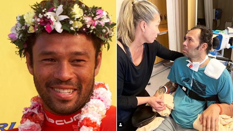 Sunny Garcia will continue his recovery, but has been able to speak to family members.