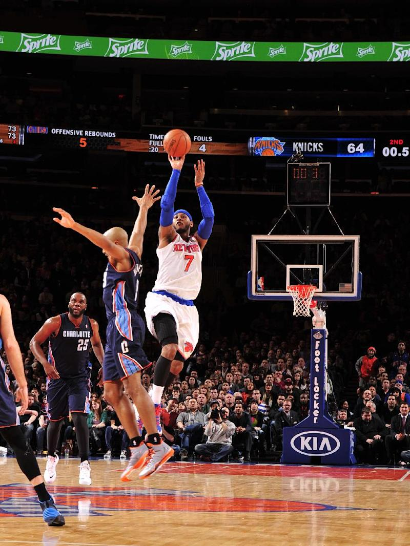 Anthony sets Knicks, MSG records with 62 points