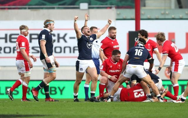 Scotland ended their campaign with an impressive 14-10 win over Wales