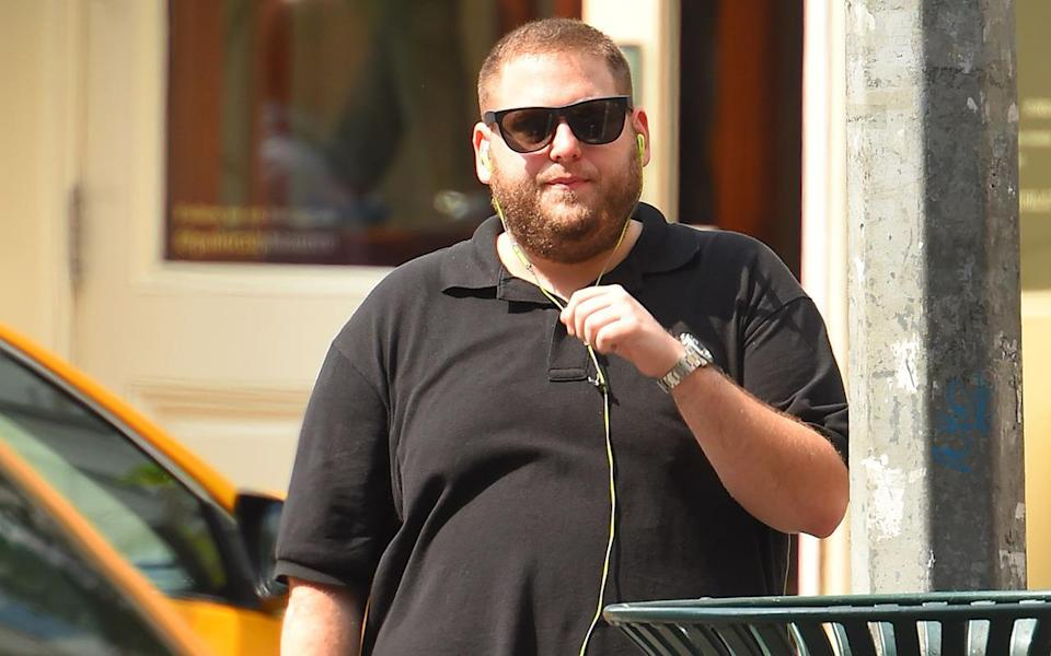 <p>All of his good work appeared to have gone out of the window again by the summer of 2015 when he was snapped looking like he was back to his 'Moneyball' era size, however…</p>