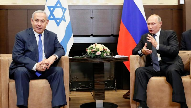 Israel's Netanyahu looking for friends in Russia before election