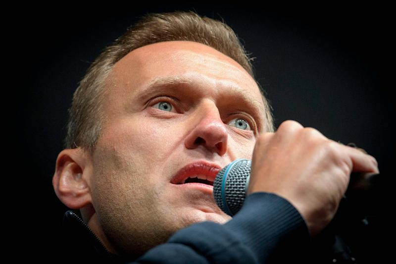 Navalny is an outspoken Putin critic and opposition party leader in Russia (AFP via Getty Images)