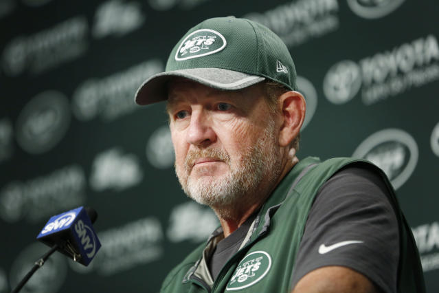 Chan Gailey, shown here in 2016, is reportedly coming out of retirement to become the Miami Dolphins offensive coordinator. (AP/Seth Wenig)