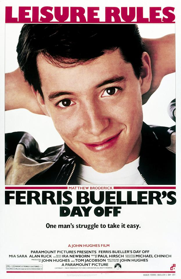"""Paramount Pictures' """"Ferris Bueller's Day Off"""" - 1986"""