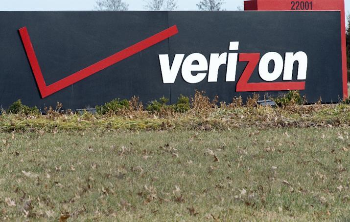 Verizon said October 26, 2016 that a massive breach at Yahoo may affect the $4.8 billion purchse of the struggling internet pioneer by the US telecom titan (AFP Photo/Paul J. Richards)