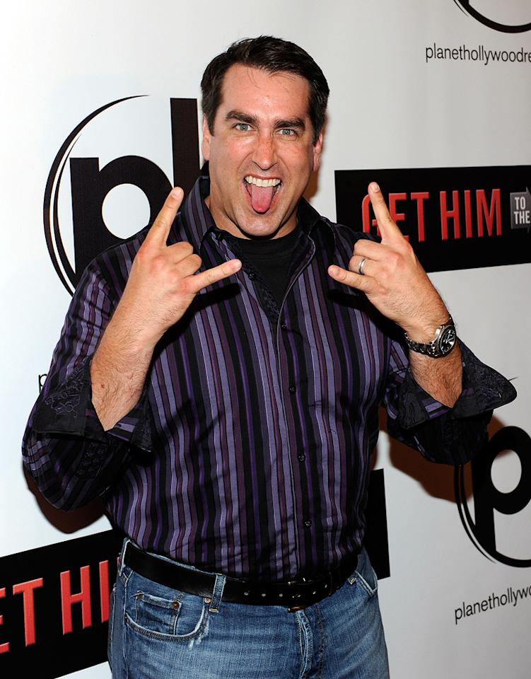 """<a href=""""http://movies.yahoo.com/movie/contributor/1808870276"""">Rob Riggle</a> at the Las Vegas screening of <a href=""""http://movies.yahoo.com/movie/1810081179/info"""">Get Him to the Greek</a> - 05/20/2010"""