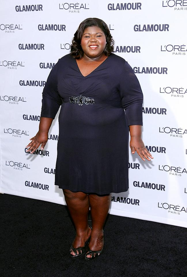 """Precious"" star Gabourey Sidibe was all smiles at the event. Mike Coppola/<a href=""http://filmmagic.com/"" target=""new"">FilmMagic.com</a> - November 9, 2009"
