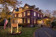 "<p>Plan a trip to one of these quaint B&Bs, <a href=""https://www.countryliving.com/life/travel/g2597/best-bed-and-breakfast-for-leaf-peeping/?slide=2"" rel=""nofollow noopener"" target=""_blank"" data-ylk=""slk:like Berry Manor Inn"" class=""link rapid-noclick-resp"">like Berry Manor Inn</a>, for a relaxing getaway surrounded by beautiful views of nature. </p>"