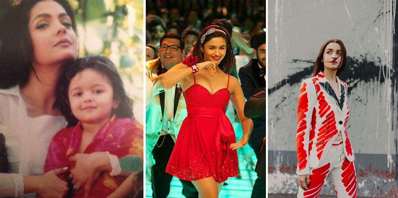 <p>Alia Bhatt's incredible transformation, on-screen and off-screen. </p>