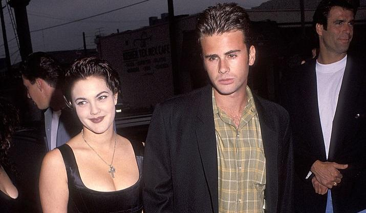 Drew Barrymore et Jamie Walters (Photo by Ron Galella, Ltd./Ron Galella Collection via Getty Images)