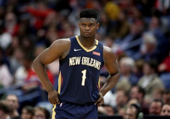 Zion Williamson practicing, could play in Pelicans' opener