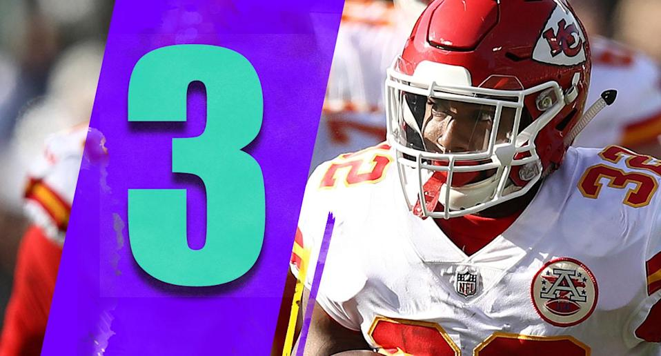 <p>If we're simply talking about the loss of Kareem Hunt in a football sense, it's not that big of a blow to the Chiefs. Hunt is a very good player, but Spencer Ware is capable. Depth is now an issue at tailback for the Chiefs. (Spencer Ware) </p>