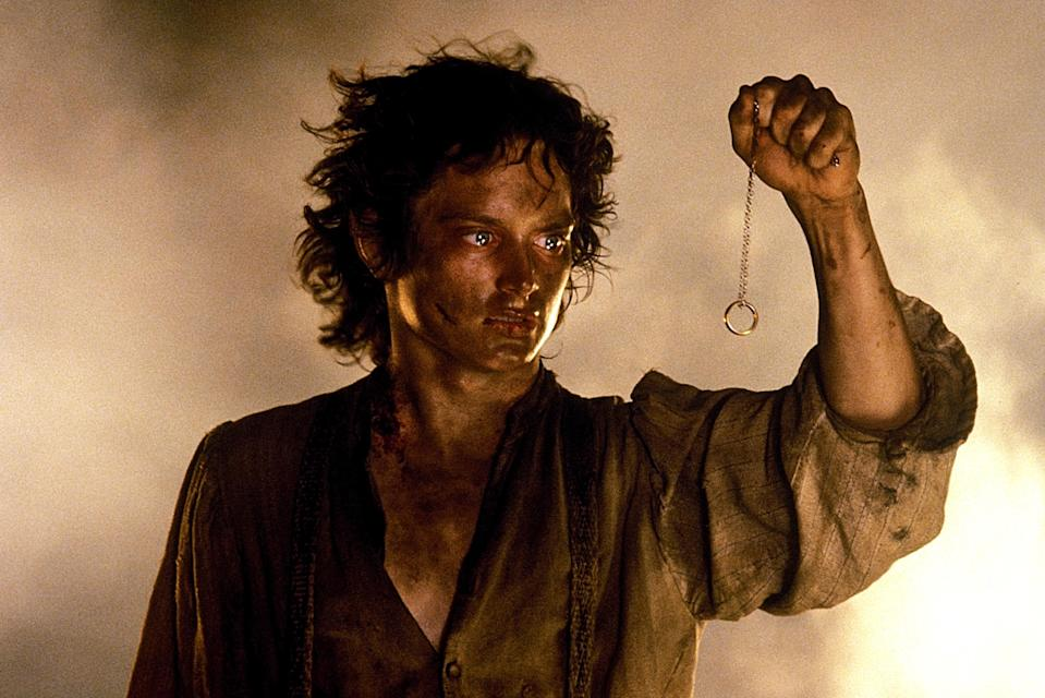 Frodo (Elijah Wood) faces Middle-earth's greatest threat: the One Ring. (Photo: New Line/courtesy Everett Collection)