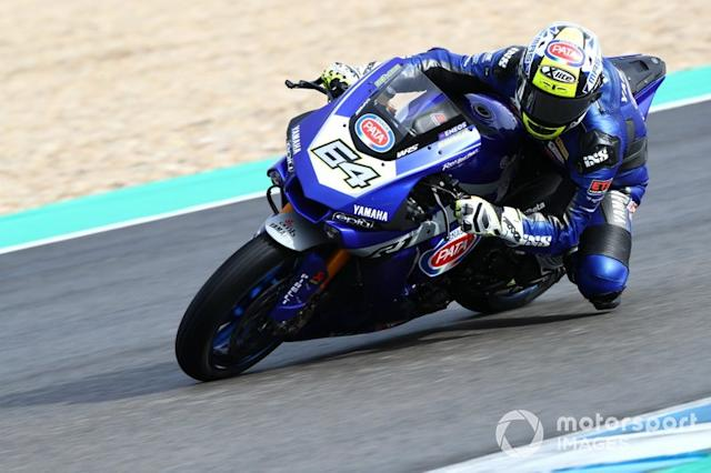 """Federico Caricasulo, GRT Yamaha WorldSBK Junior Team <span class=""""copyright"""">Gold and Goose / Motorsport Images</span>"""