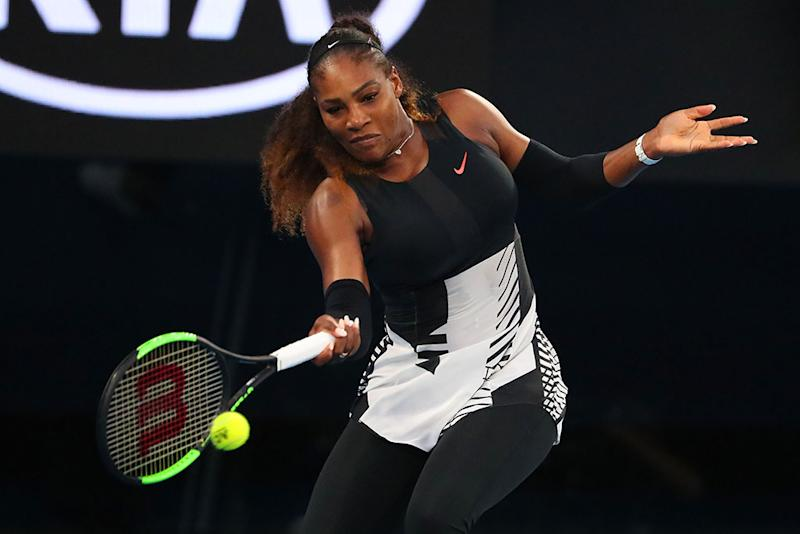 Serena Williams, doing her thing.