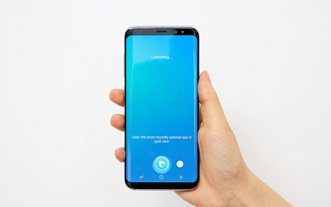 Galaxy S8 with Bixby