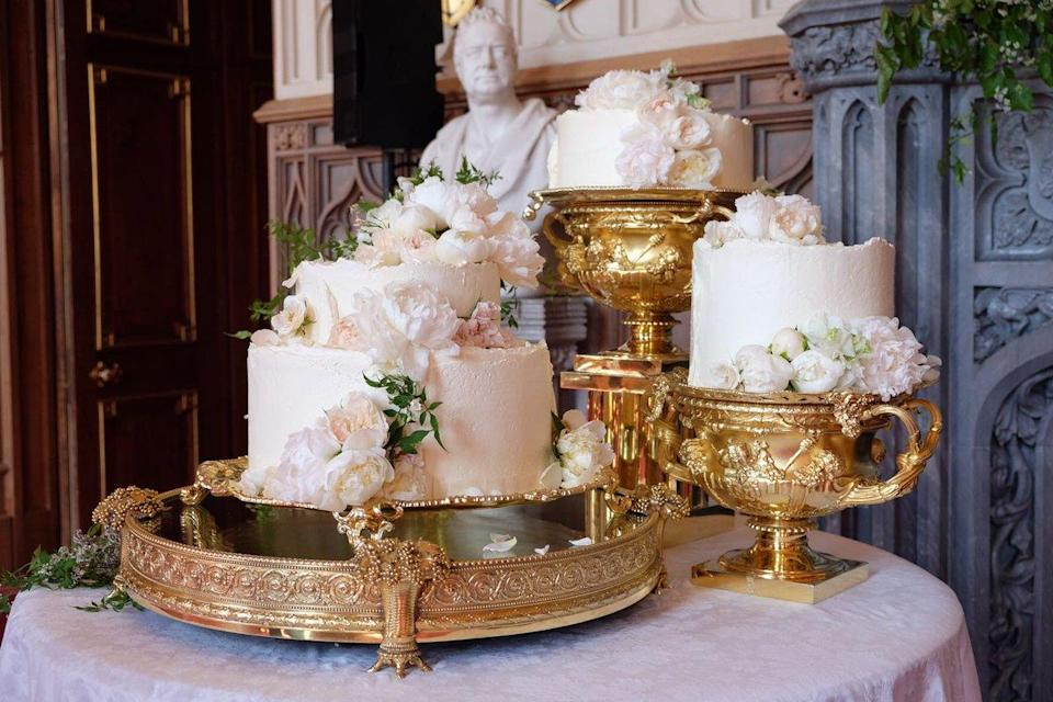 Claire Ptak's creation has finally been revealed. [Photo: Kensington Palace]