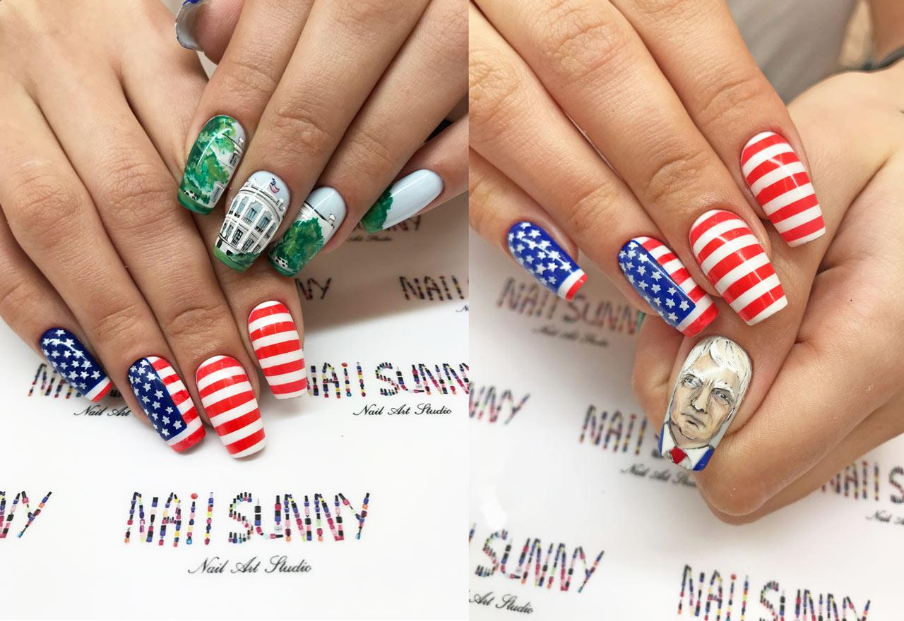 Trump manicure is a big hit at this Russian nail salon [Video]