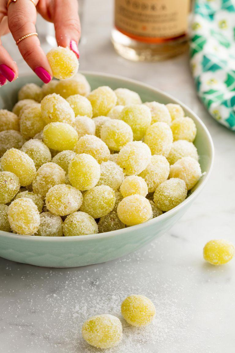 "<p>Give grapes a celebratory upgrade!</p><p>Get the recipe from <a href=""https://patty-delish.hearstapps.com/cooking/recipe-ideas/recipes/a53420/prosecco-grapes-recipe/"" rel=""nofollow noopener"" target=""_blank"" data-ylk=""slk:Delish"" class=""link rapid-noclick-resp"">Delish</a>.</p>"