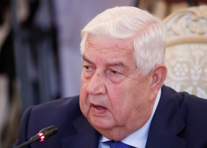Syria accuses U.S. using sanctions to suffocate Syrians 'like George Floyd'