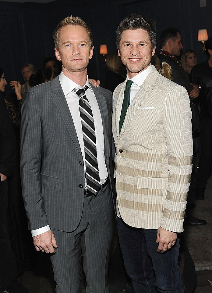 WEST HOLLYWOOD, CA - FEBRUARY 13:  Actor Neil Patrick Harris and David Burtka attend Tommy Hilfiger New West Coast Flagship Opening After Party at a Private Club on February 13, 2013 in West Hollywood, California.  (Photo by Stefanie Keenan/Getty Images for Tommy Hilfiger)