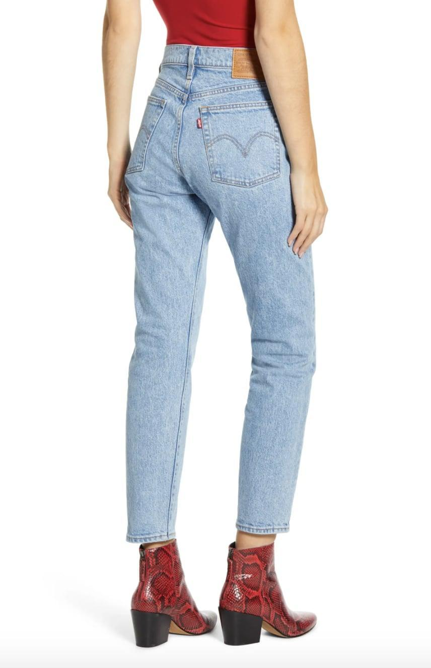 <p>You can't go wrong owning the <span>Levi's Wedgie Icon Fit Ripped Straight-Leg Jeans</span> ($98). The popular pair is one you'll own for years to come.</p>