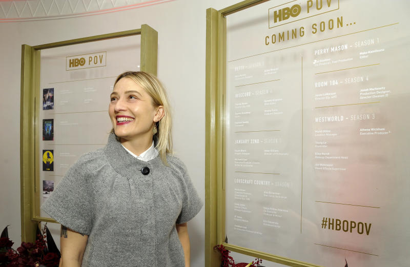"""WEST HOLLYWOOD, CALIFORNIA - DECEMBER 10: Mandi Dillin attends the HBO POV """"That's a Wrap"""" Celebration on December 10, 2019 in West Hollywood, California. (Photo by John Sciulli/Getty Images for HBO)"""
