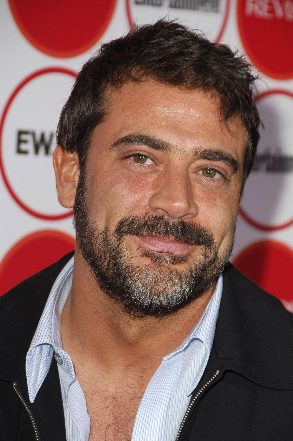 <p>When Jeffrey Dean Morgan debuted on <em>Grey's Anatomy</em> as reoccurring guest star, Denny Duquette, he was already sporting some gray in his beard, but his hair was dark brown.  </p>
