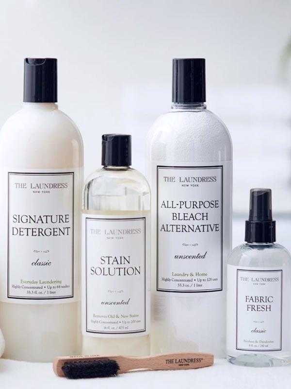 """Nobody really looks forward to laundry day, but having a set of fail-safe supplies makes it a lot easier. $80, The Laundress. <a href=""""https://www.thelaundress.com/everyday-laundry-starter-kit.html"""" rel=""""nofollow noopener"""" target=""""_blank"""" data-ylk=""""slk:Get it now!"""" class=""""link rapid-noclick-resp"""">Get it now!</a>"""