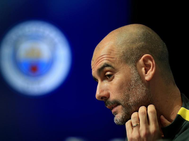 Guardiola stressed the need to qualify for the Champions League: Getty