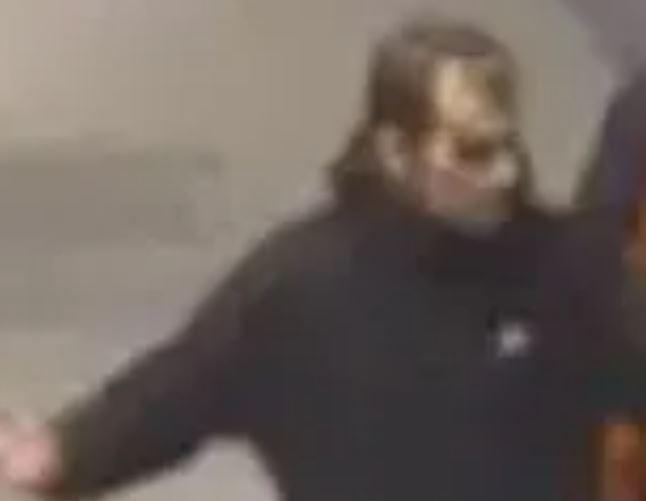 Police want to identify this man in connection with the assault (Picture: Police)