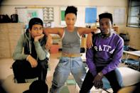 "<p>In this nostalgic coming-of-age film, high school students Malcolm (Shameik Moore), Jib (Tony Revolori), and Diggy (Kiersey Clemons) embark on a wild adventure involving a wrong place, wrong time run in with a local drug dealer and his armed thugs. Presented at the 2015 Sundance Film Festival, <strong>Dope</strong> brings a fresh take to the John Hughes teen movie.</p> <p><a href=""https://www.amazon.com/Dope-Shameik-Moore/dp/B014Z5BOBO/"" class=""link rapid-noclick-resp"" rel=""nofollow noopener"" target=""_blank"" data-ylk=""slk:Watch Dope on Amazon Prime Video"">Watch <strong>Dope</strong> on Amazon Prime Video</a>.</p>"