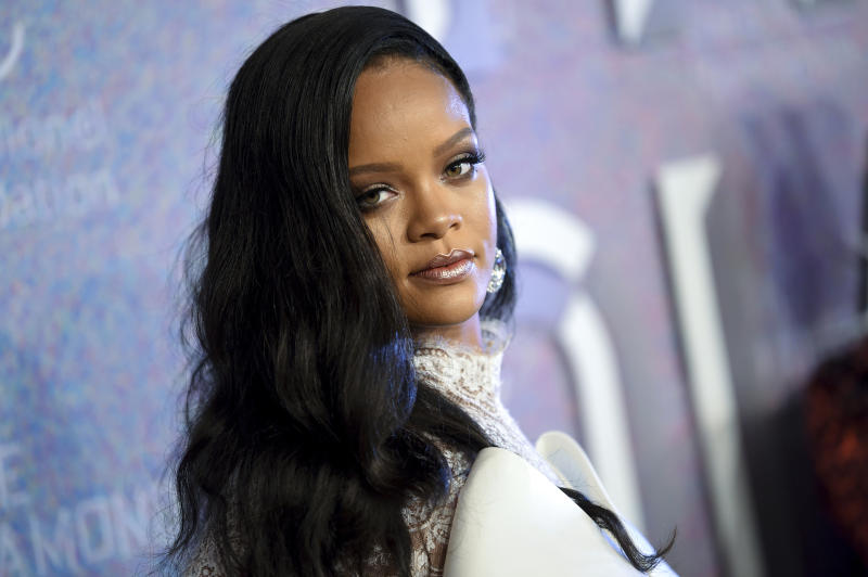 <p> FILE - In this Sept. 13, 2018 file photo, singer Rihanna attends the 4th annual Diamond Ball at Cipriani Wall Street in New York. Rihanna is partnering with LVMH Moët Hennessy Louis Vuitton to launch a new fashion label. The pop star, born Robyn Rihanna Fenty, announced Friday, May 10, 2019, that a new line called Fenty will debut this spring and will be based in Paris. (Photo by Evan Agostini/Invision/AP, File) </p>