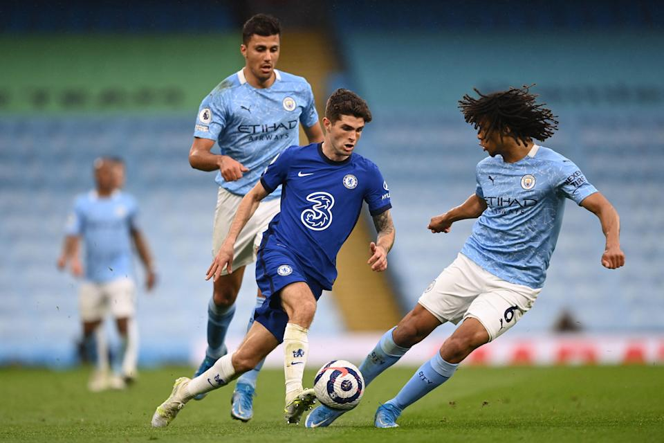 Christian Pulisic and Chelsea take on EPL rivals Manchester City in this year's UEFA Champions League final.
