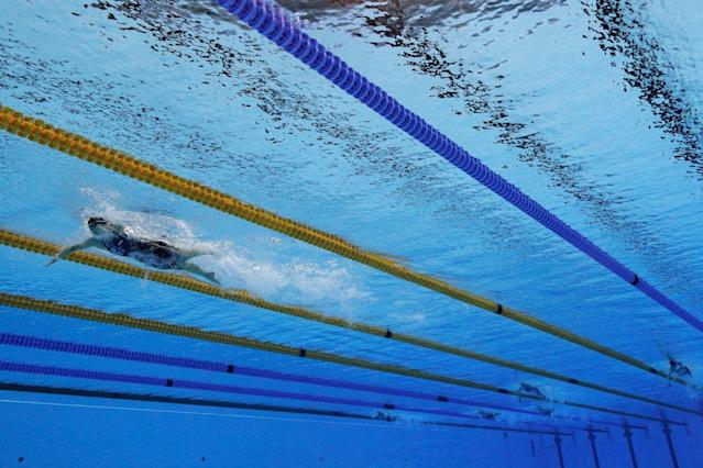 <p>Did we expect anything else? Swimmer Katie Ledecky is fast. Real fast. She took home four gold medals and one silver, breaking world records in the 800-meter and 200-meter freestyle. The record that Ledecky broke in the 800 was also set by her. Just wow. </p>