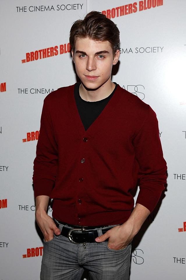 """Nolan Gerard Funk at the New York screening of <a href=""""http://movies.yahoo.com/movie/1809843292/info"""">The Brothers Bloom</a> - 05/07/2009"""