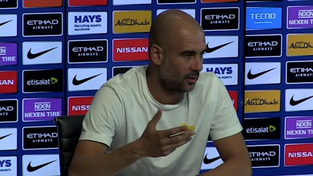 Manchester City manager Pep Guardiola pre match press conference v Swansea - SUBJECT: Looking forward to next challenge