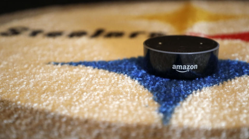 Amazon's earnings on Thursday will be the day's biggest event for investors, with analysts looking for any updates on the company's search for a new headquarters. (Jessie Wardarski/ Pittsburgh Post-Gazette via AP)