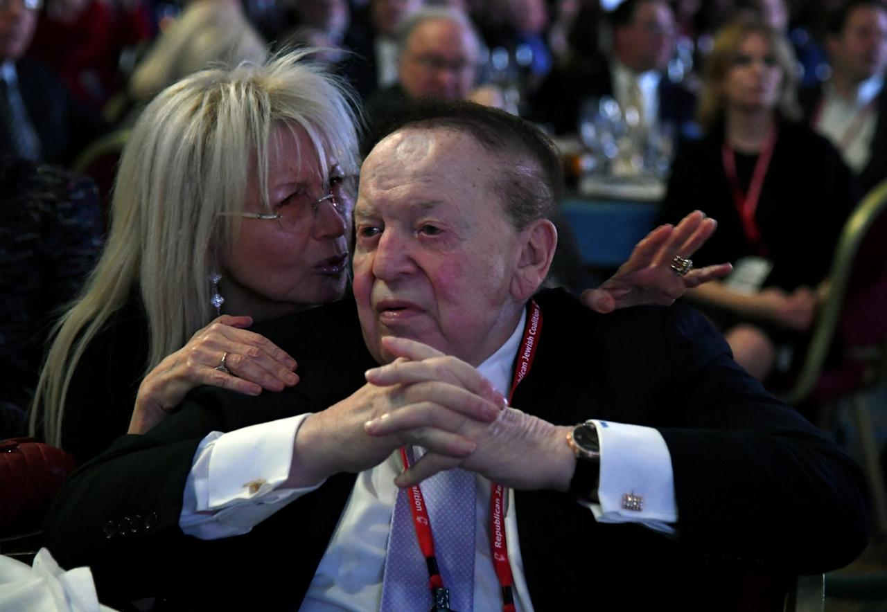 <p>No. 20: Sheldon Adelson<br /> Net worth: $30.4 billion<br /> Source of wealth: Casinos<br /> (Reuters) </p>