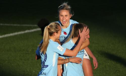 Manchester City go top of WSL after Chelsea drop points at Reading