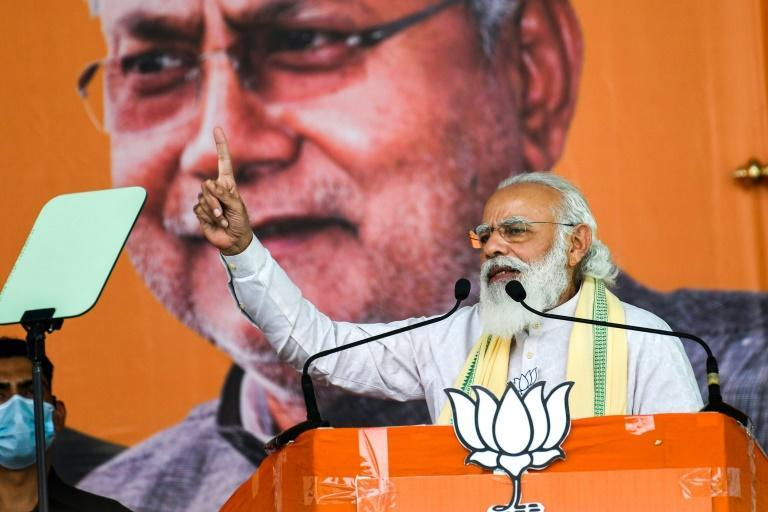 Indian Prime Minister Narendra Modi has held several rallies in Bihar state and promised to expedite development projects in the region