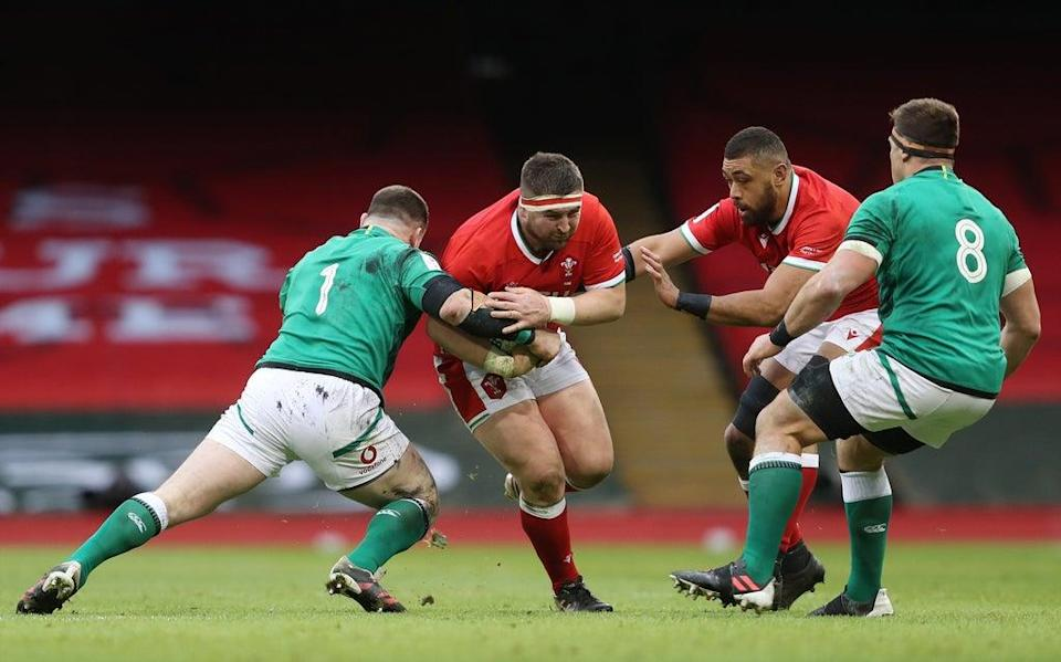 Wales or Ireland could have to wear a change kit if they meet in the 2027 Rugby World Cup (David Davies/PA) (PA Archive)