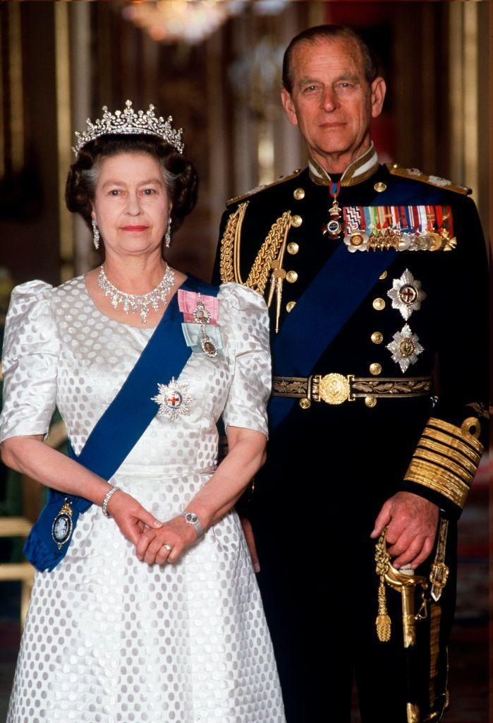 <p>In the Green room of Windsor Castle for a ceremonial event.</p>