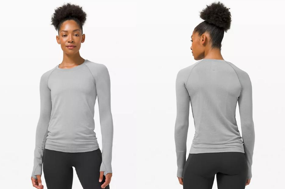 This week, Lululemon is giving shopping a chance to score their top-rated Swiftly Tech Long Sleeve 2.0 on sale.